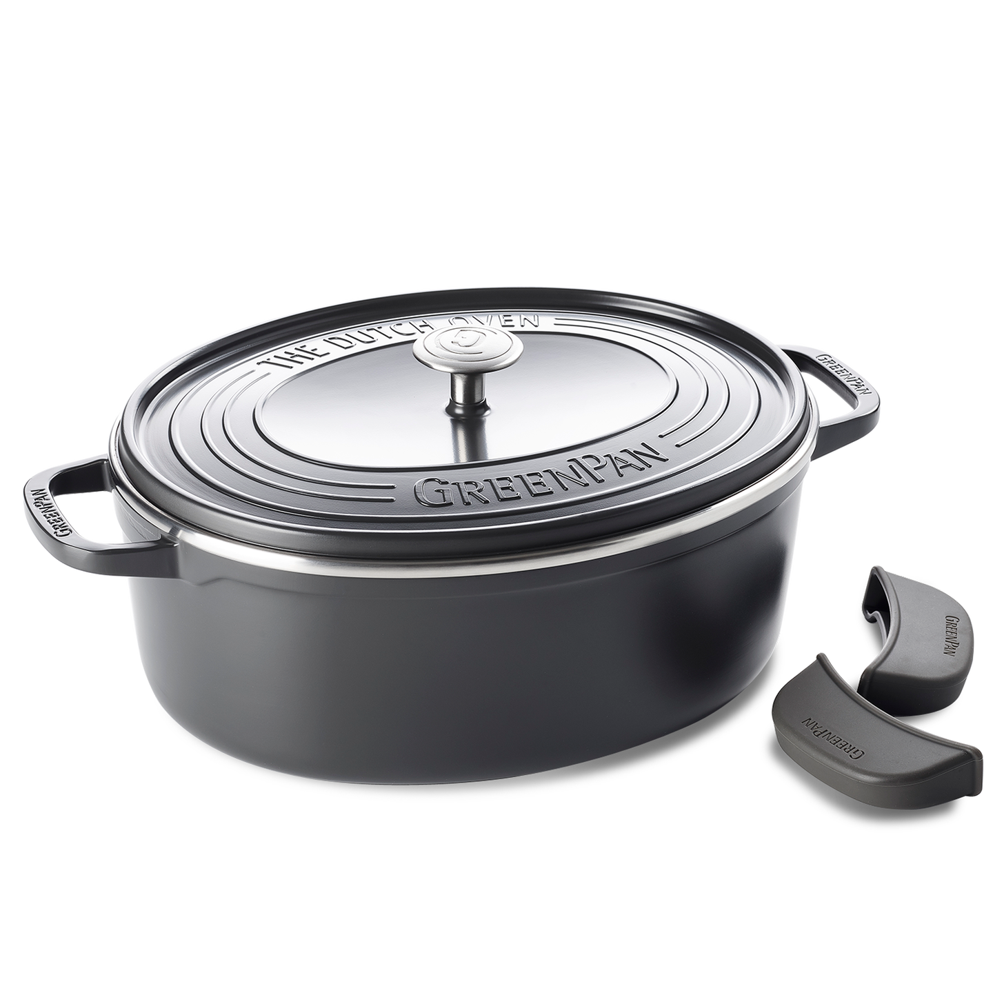 Featherweights Keramisk Oval Non-Stick Dutch Oven med lock